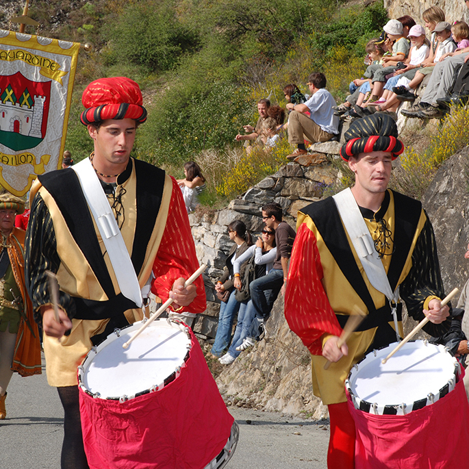 Medieval Festivities of Saillon in Switzerland